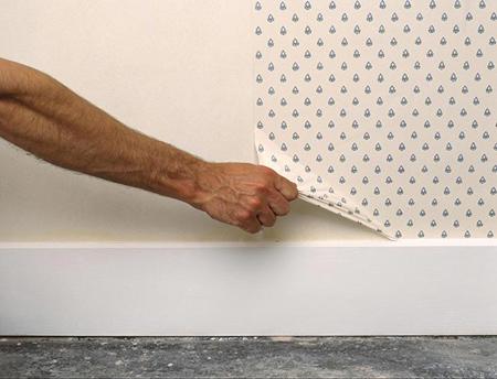 راحت ترین راه برای کندن کاغذ دیواری,راهنمای کندن کاغذدیواری