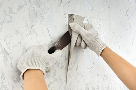 نکاتی برای نصب کاغذ دیواری,راحتترین روش نصب کاغذ دیواری