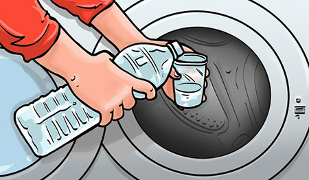 نحوه ی شستن لباس ها, طرز شستن لباس های کثیف
