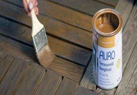 رنگ زدن چوب در خانه,فنون رنگ زدن چوب در خانه