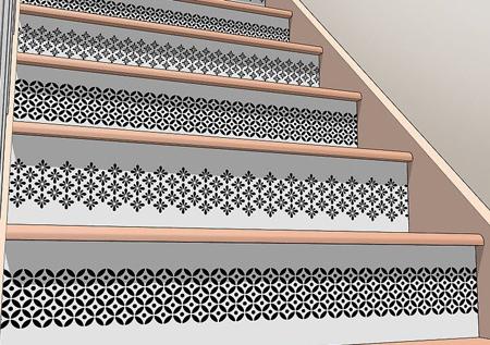 ایده هایی برای تغییرات راه پله,آموزش رنگ آمیزی پله ها