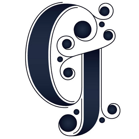 تصاویر حرف G,کارت پستال حروف G
