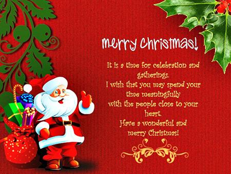کارت تبریک کریسمس, کارت پستال تبریک کریسمس