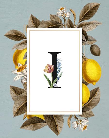 تصاویر حرف i,کارت پستال حرف i