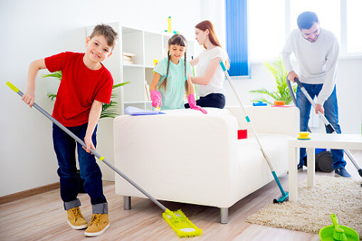 نکاتی برای خانه تکانی, نکته های خانه تکانی