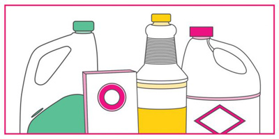 آشنایی با ترکیبات خطرزای تمیز کننده ها, خطرناک ترین ترکیبات شوینده ها