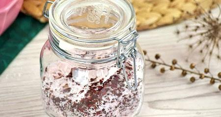 خواص نمک حمام گل رز,درست کردن نمک حمام گل سرخ