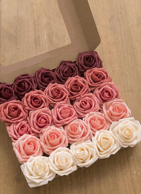 تصاویر جعبه های گل رز,باکس گل رز