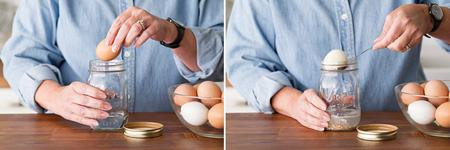 مهارت های پوست گرفتن تخم مرغ, ترفندهای جدا کردن پوست تخم مرغ آبپز