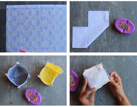 آموزش دوخت روکش گلدان,نکاتی برای دوخت روکش گلدان