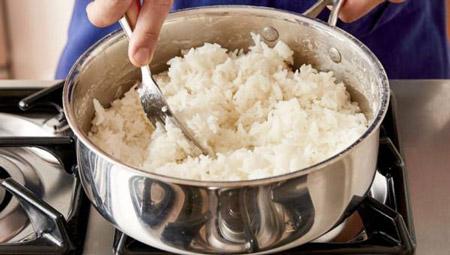 برنج شفته,راهکارهایی برای برنج شفته,با برنج شفته چه کنیم