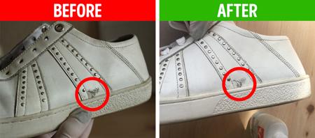 نحوه تمیز کردن کفش,نکاتی برای تمیز کردن کفش