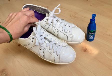 راههای شستن کفش,مراحل تمیز کردن کفش