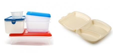 نکاتی برای استفاده از مایکروویو,ظروف ممنوعه داخل مایکروویو