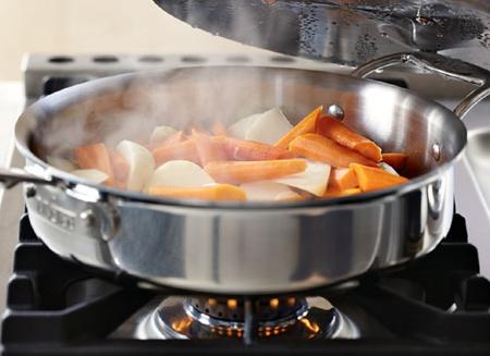 آشنایی با ظروف استیل,مزایای استفاده از ظروف استیل