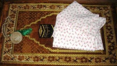 روش دوخت مقنعه و چادر, دوخت مقنعه و چادر نماز