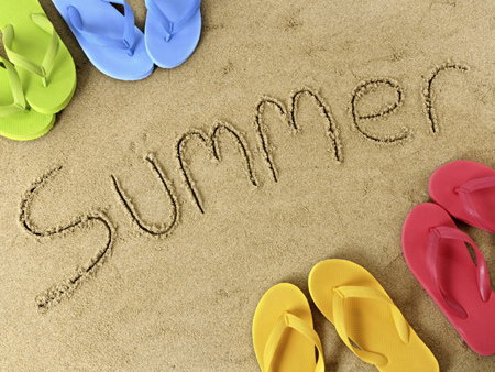 پوستر روز تابستان,کارت پستال فصل تابستان