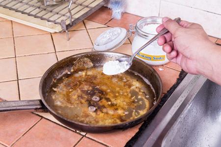 راهنمای شستشوی ظروف تفلون, روش های شستشوی ظروف تفلون