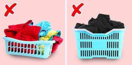 اصول لباس شستن,راهنمای شستن لباس های سفید
