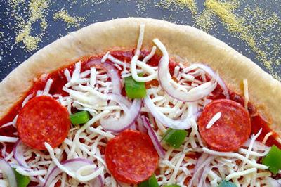 نکاتی برای پخت پیتزا در خانه