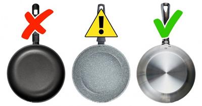 ظروف ممنوعه در آشپزخانه,نکاتی برای استفاده از ظروف در آشپزخانه