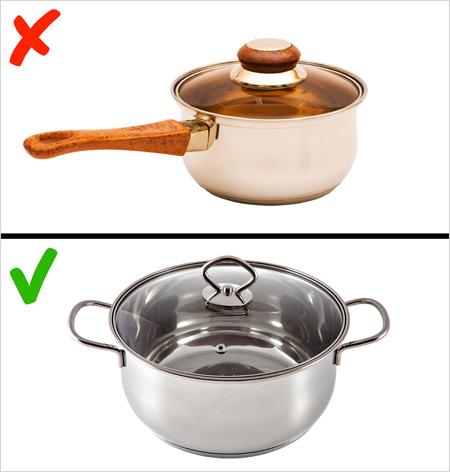 نکاتی برای استفاده از ظروف در آشپزخانه,ظروف سمی در آشپزخانه