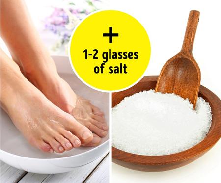 نکته هایی برای استفاده از نمک,نمک در خانه داری