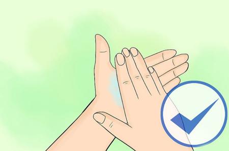 استفاده ی مرحله ای از ضدعفونی کننده,شیوه ی استفاده از ضدعفونی کننده ی دست