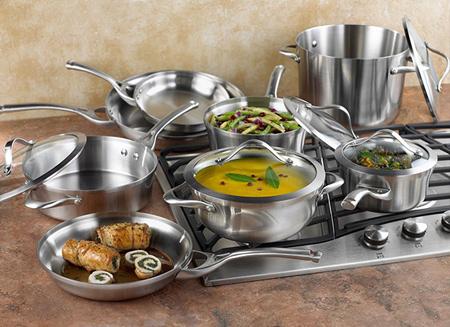 مهارت های استفاده از ظروف استیل, اصول استفاده از ظروف استیل