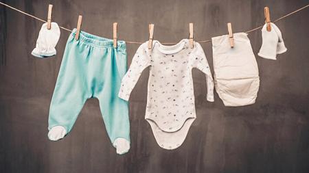 شستشوی لباس نوزاد,نحوه شستشوی لباس نوزاد
