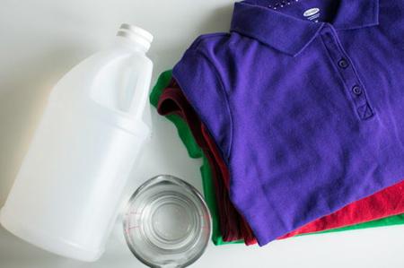 شیوه شستن لباس ها با سرکه,مراحل شستن لباس ها با سرکه