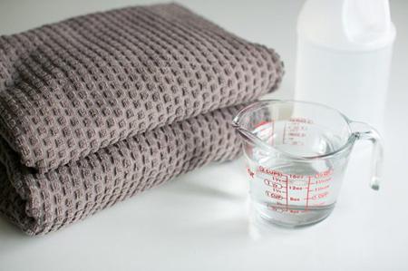 کاربردهای سرکه در تمیزکاری,اصول شستن لبا س ها با سرکه