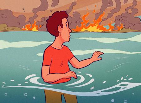 راهکارهای ایمنی در آتش سوزی, نکاتی ایمنی در آتش سوزی