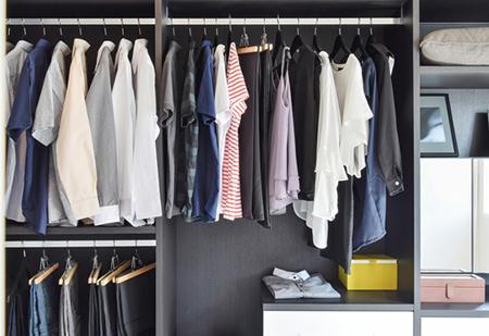 روش مرتب کردن کمد لباس, شیوه مرتب کردن کمد لباس