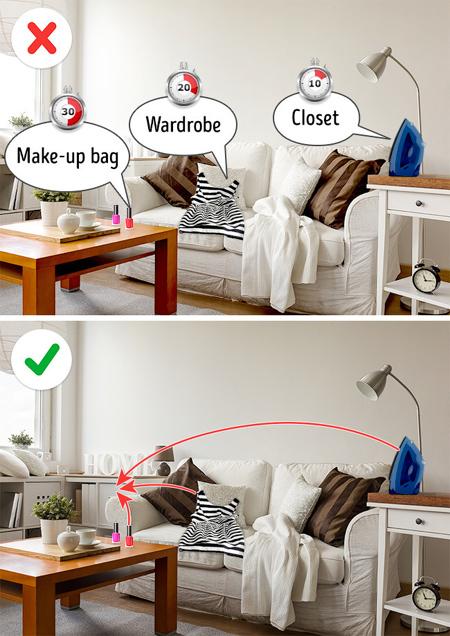 مرتب و تمیز کردن خانه,مهارت های تمیز کردن خانه