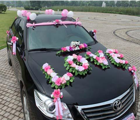 تصاویر ماشین عروس,ماشین عروس ایرانی,مدل ماشین عروس شیک