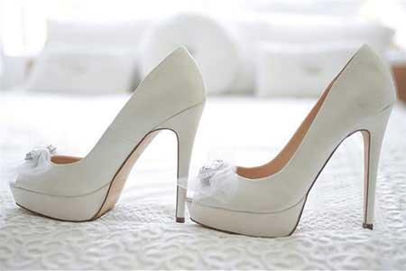 انتخاب کفش عروسی,نکات خرید کفش عروسی,کفش عروسی
