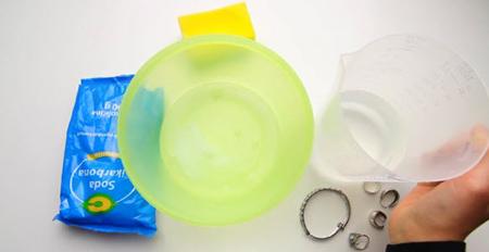 تمیز کردن ظروف نقره,روش های تمیز کردن ظروف نقره