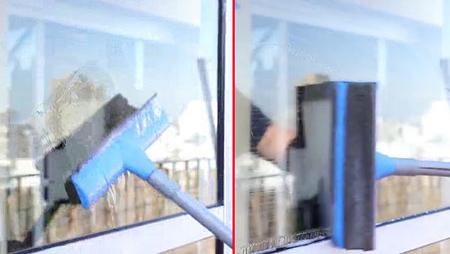 نحوه تمیز کردن شیشه و پنجره,طرز تمیز کردن شیشه و پنجره