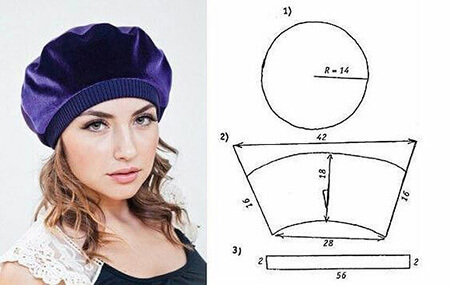 تصاویر الگوهای کلاه زمستانی, الگو کلاه زمستانی