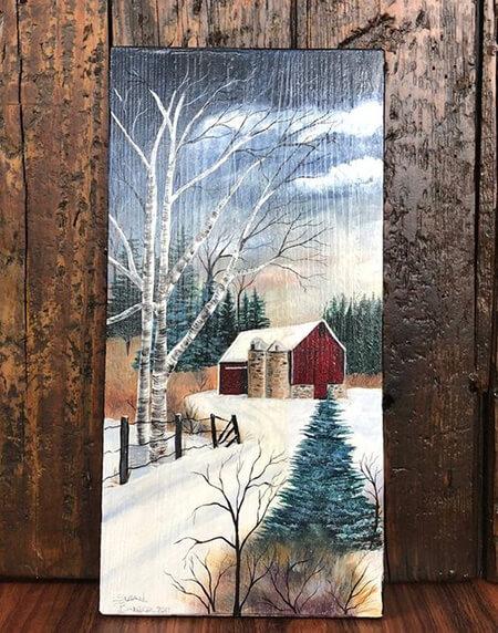 نحوه ی نقاشی روی چوب, آموزشهای نقاشی روی چوب