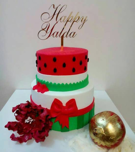 مدل های کیک شب یلدا, ایده هایی برای تزیین کیک شب یلدا