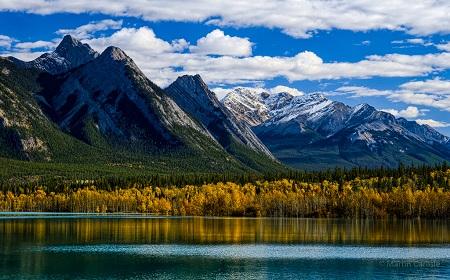 حباب های یخ دریاچه ابراهام, دریاچه آبراهام کانادا, دریاچه حبابی آبراهام