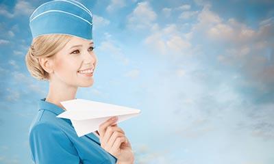 مهمانداران هواپیما,رفتار با مهمانداران هواپیما,طرز رفتار مهمانداران هواپیما