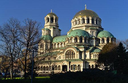 تصاویر کلیسای الکساندر نوسکی,جاذبه های گردشگری بلغارستان,عکس های کلیسای الکساندر نوسکی