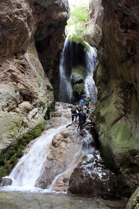 چشمه آق سو,آدرس آبشار آق سو,جاذبه های گردشگری گلستان