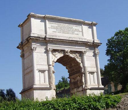 شهر رم,فهرست جاذبههای گردشگری در رم,طاق تیتوس