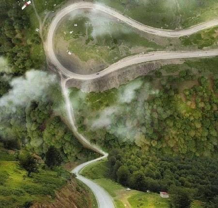 مناظر زیبای جاده ی اسالم اردبیل, جاده ی اسالم خلخال, زیبا ترین جاده های ایران