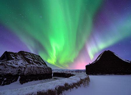 شفق قطبی,زمان دیدن شفق قطبی,عکس شفق قطبی