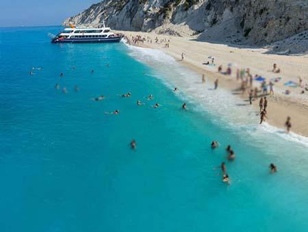 زیباترین سواحل با آبهای فیروزهای,سواحل زیبا,سواحل یونان